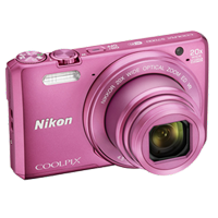 Nikon Coolpix S7000 16MP Digital Camera Pink (PRIORITY DELIVERY + FREE ACCESSORY)