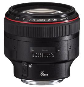 Canon EF 85mm f 1.2L