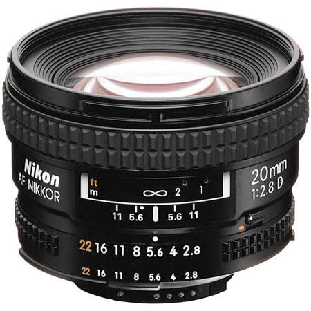 Nikon Nikkor AF 20mm 20 mm  f2.8
