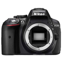 New Nikon D5300 24MP Body Kit Black (PRIORITY DELIVERY + FREE ACCESSORY)